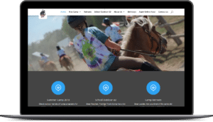 Frontier Trails Camp – WordPress Theme Development